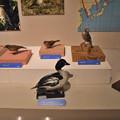 冬鳥の陣の展示1