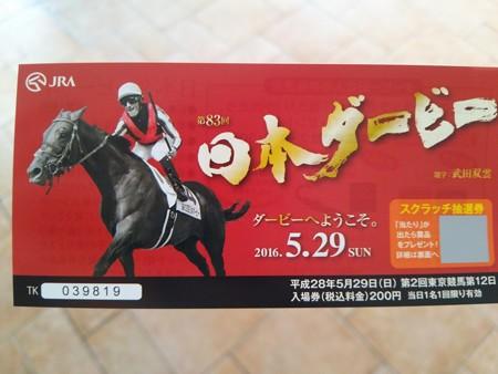 第83回 東京優駿