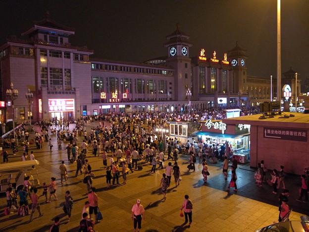北京駅夜景