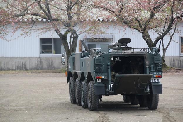 96式装輪装甲車 負傷者搬送
