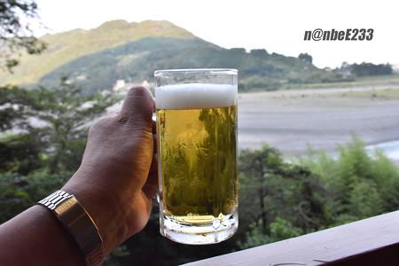 大井川に乾杯♪