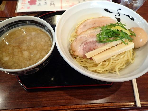 煮干しつけそば+こぶだし味玉@さくら木・長野市