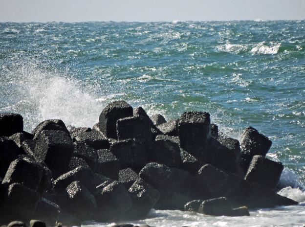 増毛町の海