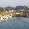 写真: 八尾川河口の朝  H29,3,20