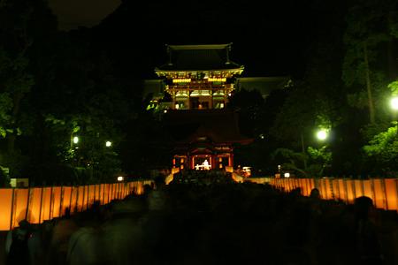 ぼんぼり祭り!(20100808)