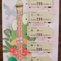 Photos: 開運縁起記念乗車券