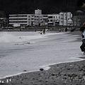 写真: はじめての海