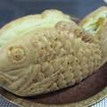 写真: 分厚い鯛焼き