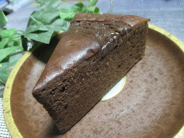 写真: トルテケーキ(チョコ)