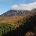 写真: 初雪大山