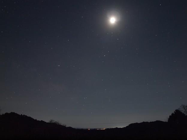 写真: 月と蠍