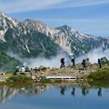写真: [2016年07月10日]八方池から白馬三山