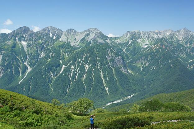 写真: [2016年08月12日]穂高連峰
