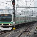 上野東京ライン常磐線からの1630H品川10番進入