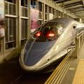 500系V4編成こだま754号岡山24番発車!