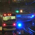 青く輝く上野東京ライン常磐線成田線直通成田行き