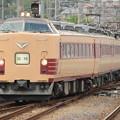 485系T18編成 足利大藤まつり号桐生4番入線