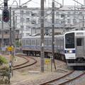 Photos: 水戸線415系K543編成445M終点小山15番入線