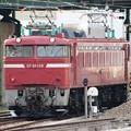 鉄道ふれあいフェア展示終えて大宮総合車両センターから引き上げる青森のEF81 139
