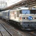 EF510-510牽引8010レ北斗星号宇都宮9番停車