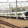 写真: E257系特急かいじ108号立川3番進入