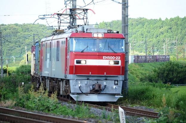 金太郎22号機牽引高速貨物3050レ