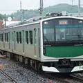 Photos: ACCUM烏山行き8331M雨の大金1番入線