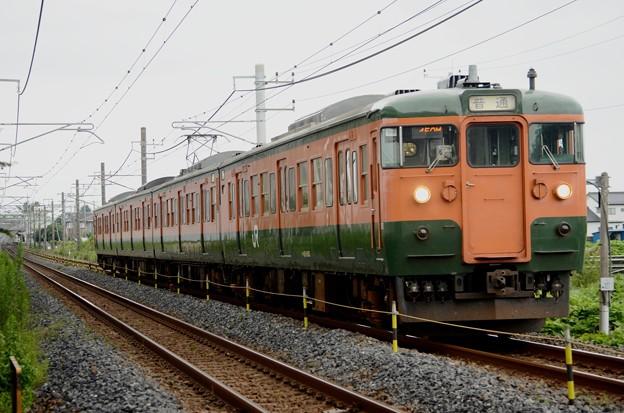 115系T1090編成高崎発宇都宮行き459M