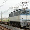 EF65白プレート2094号機牽引配8593レ宇都宮貨物(タ)間もなく到着