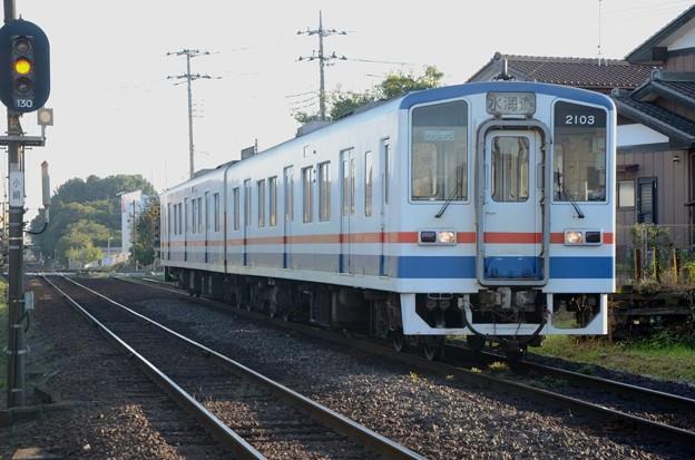 関東鉄道キハ2100形水海道行き