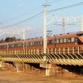 Photos: 思川橋梁を行くスペーシア「日光詣」編成特急きぬ128号