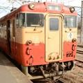 烏山線キハ40一般形標準色328D宝積寺3番停車
