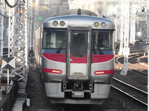 キハ189系特急はまかぜ4号三ノ宮発車