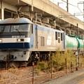 新鶴見のEF210-112代走牽引高速貨物4091レ