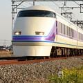 東武100系スペーシア「雅」編成特急きぬ123号鬼怒川温泉行き