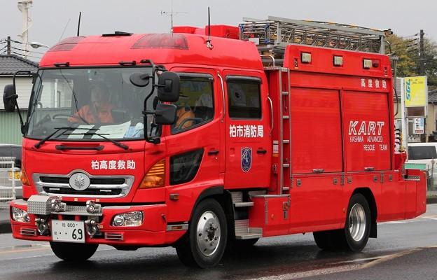 千葉県柏市消防局 lll型救助工作車