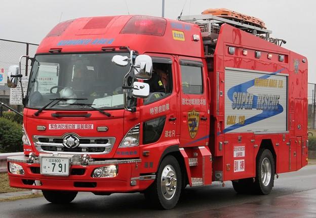 滋賀県湖北地域消防本部 ll型救助工作車