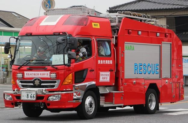 奈良市消防局 lll型救助工作車