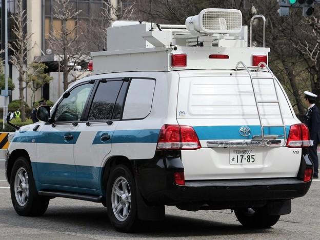 愛知県警 機動隊 現場指揮官車(後部)