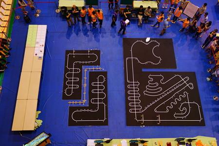 2016台湾大会ロボトレースコース