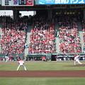 Photos: 黒田初球