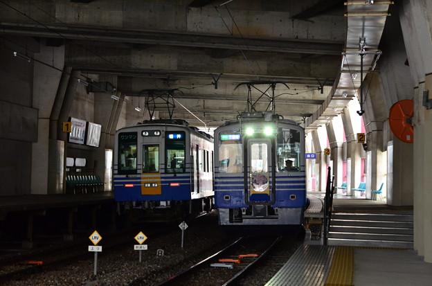 福大前西福井駅構内(2)