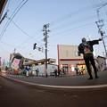 写真: 凧パレード