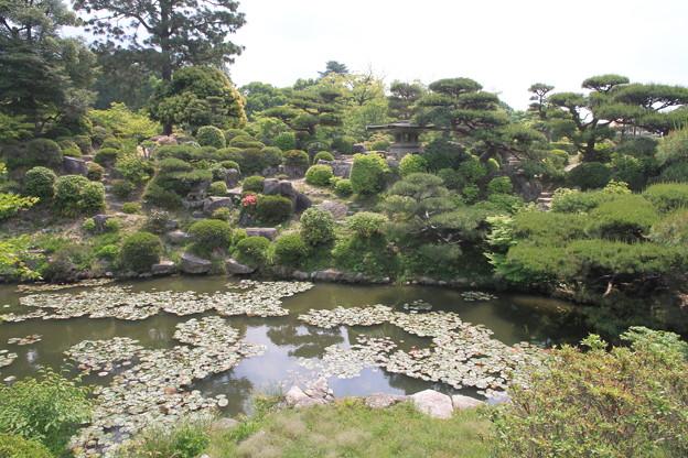 Photos: 110517-79四国中国地方オングツーリング・毛利氏庭園