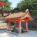 Photos: 110519-14日御碕神社・手水舎