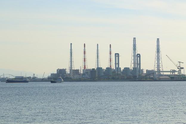 火力発電所の煙突