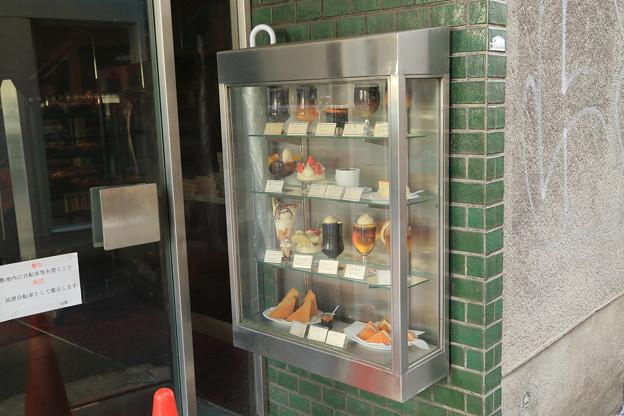 閉店した喫茶店