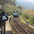 予讃線・下灘駅キハ32