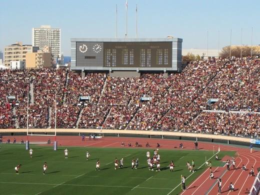 国立競技場(ラグビー早明戦2013)