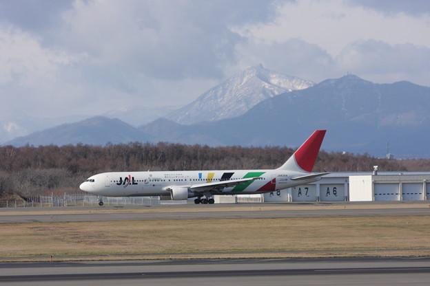 B767-300 JA8364 JAL 2016五輪招致 2008.11